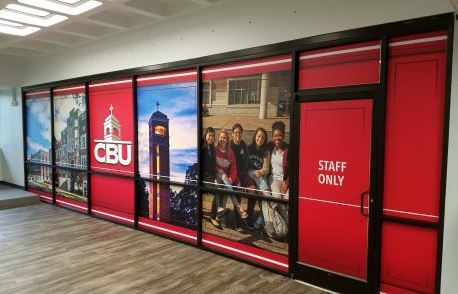 CBU Window Decals