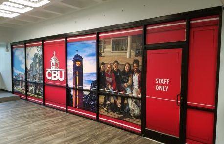CBU Window Decals