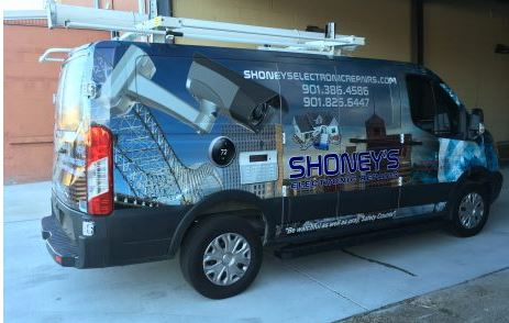 Electronic Repair Van Wrap