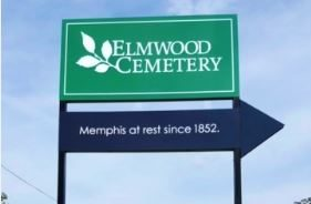Elmwood Cemetery Pole Sign Revision