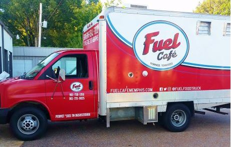 Fuel Cafe Food Truck Wrap