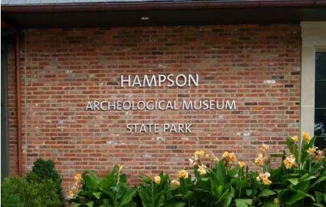 Hampson Cast Metal Letters Stud Mounted