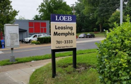 Loeb Custom Encapsulated Post and Panel Sign