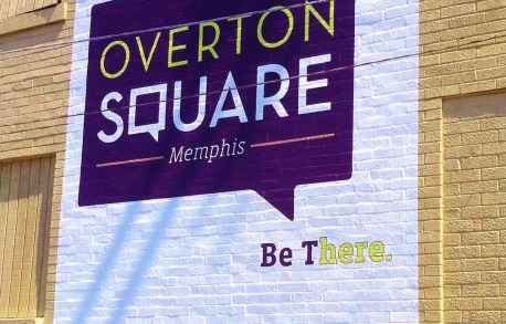 Outdoor Decal Overton Square
