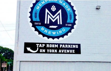 Outdoor Vinyl Decal Tap Room