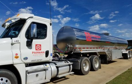 Parman Rebrand 50 Foot Tanker
