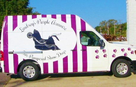 Pet Accessory Van Wrap