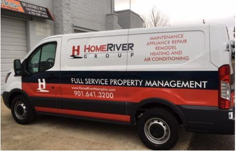 Property Management Van Wrap