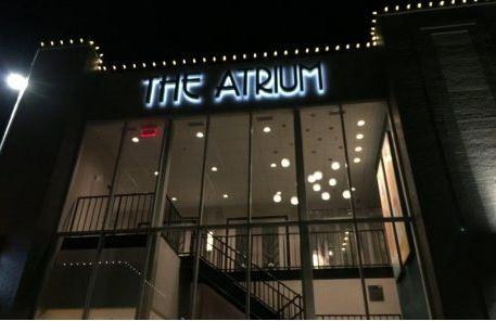 Reverse Channel Letters Atrium