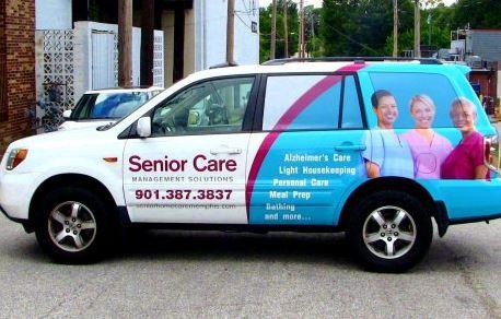 Senior Care Minivan Wrap