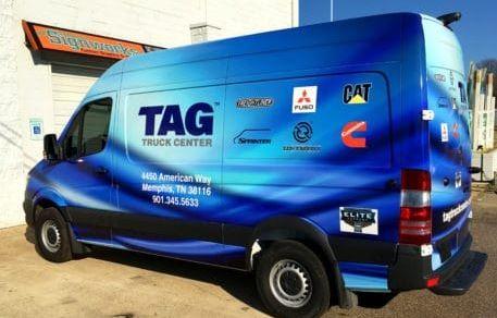 TAG Truck Sprinter Wrap