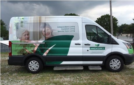 Transit Wagon Wheelchair Van Wrap