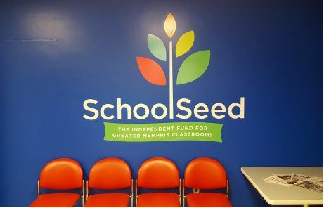 Vinyl Wall Decal School Seed SCS