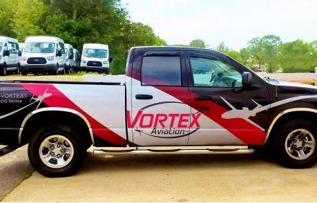 Vortex Pickup Truck Wrap
