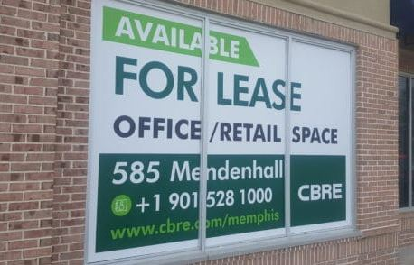 for lease window graphics cbre