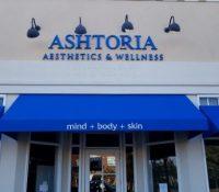 Ashtoria 3D Painted Cast Metal Letters
