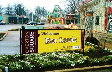 Bar Louie Banner In Frame