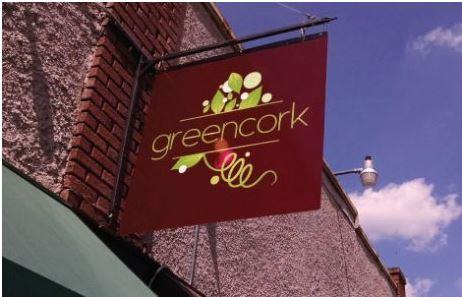 Greencork Metal Blade Sign With Digitally Printed Graphics