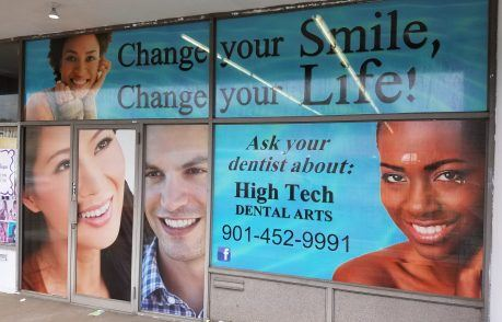 High Tech Dental Arts Perforated Window Film