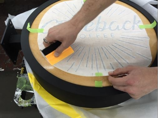 How To Install Vinyl Decals Squeegee Other Side