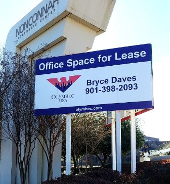 Olymbec Commercial Real Estate Sign