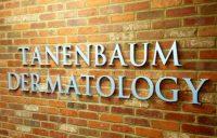 Tanenbaum Dermatology 3D Cut Metal Letters With Annodized Finish