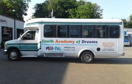 Youth Academy Bus Decals