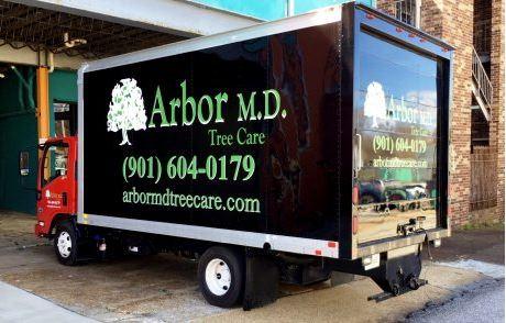 Arbor MD Box Truck Graphics