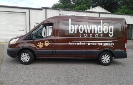 Browndog Lodge Transit Van Full Wrap