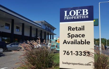 Loeb Custom Post and Panel Sign Encapsulated