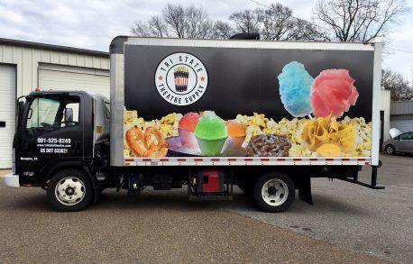 Tri-State Theatre Box Truck Wrap