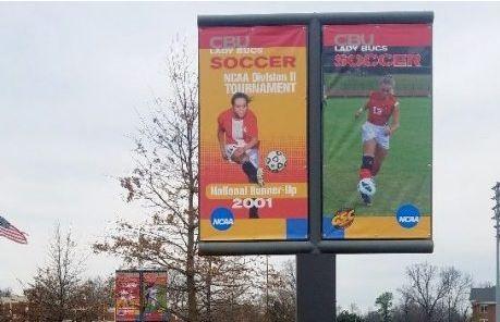 CBU Soccer Field Banners 2