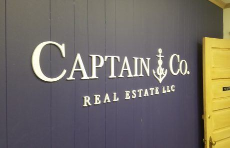 Captain and Co Acrylic 3D Letters
