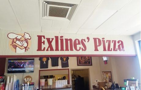 Exlines Pizza Vinyl Wall Decal