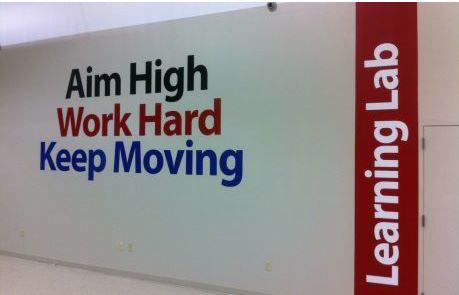 Goodwill Job Center Wall Graphics