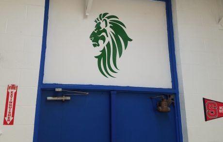 KIPP Prep Middle Mascot Wall Decals