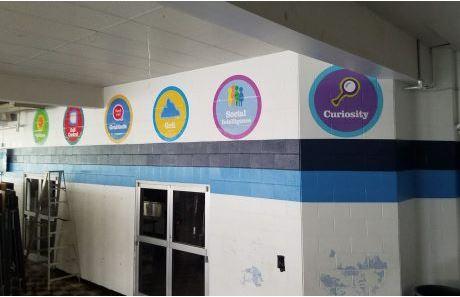KIPP Value Badges Wall Decals