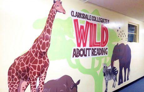 Clarksdale Collegiate School Giant Wall Decals