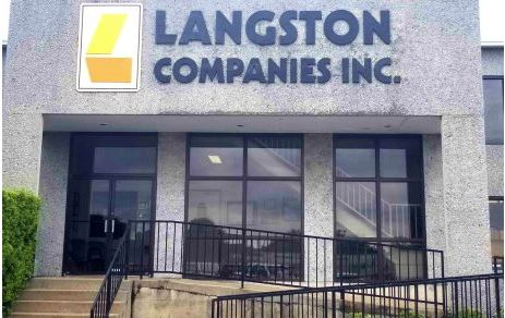 Langston Formed Plastic Letters