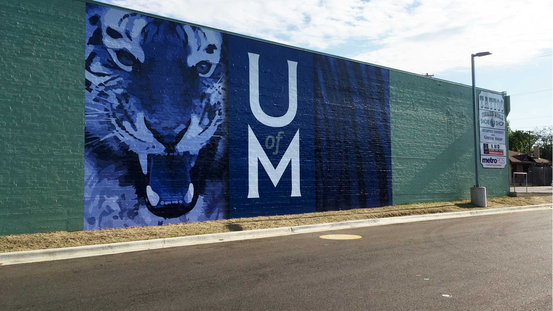 UofM-Tiger-Mural-Vinyl-Wall-Wrap-On-Brick-2