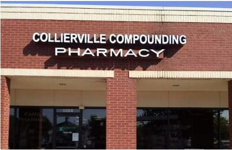 Collierville Compounding Pharmacy Lighted Channel Letters