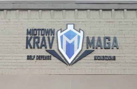 Midtown Krav Maga Flat Cut Acrylic With Digital Print