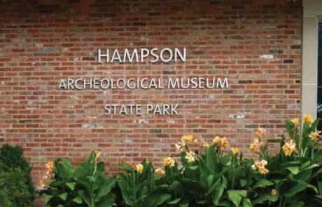 Hampson-State-Park-Cast-Aluminum-Letters
