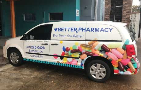 BetterX-Pharmacy-Dodge-Caravan-Wrap