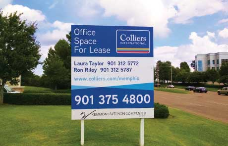 Colliers-Post-and-Panel-Sign