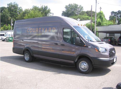 Courtyard Bloomington Jumbo Transit Wrap