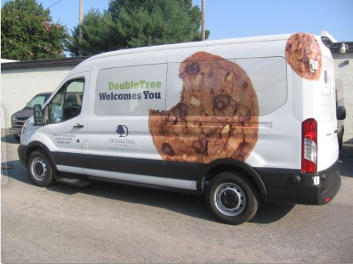 DoubleTree Sawgrass Van Wrap