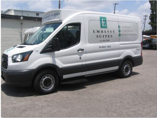Embassy San Antonio Shuttlestar Van