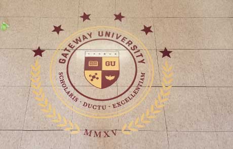 Gateway-University-Seal-Floor-Decal