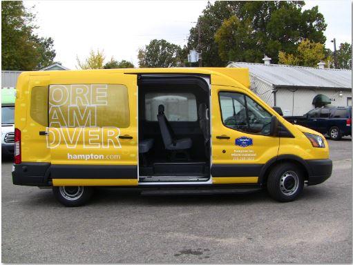Hampton Yellow ShuttleStar Van